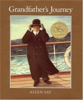Cover, Grandfather's Journey
