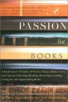 Cover, A Passion for Books