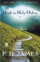 Cover, Death in Holy Orders